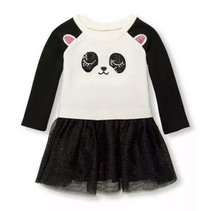 TCP Baby Girl Sequin Panda Tutu Dress NEW!